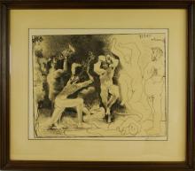 Pablo Picasso, La danse des faunes (B 830; M 291)