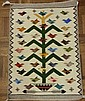 Tree of Life, Genuine Navajo Rug Woven by Marie Begay (Navajo)