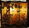 Antique Chinese Eight Panel Screen