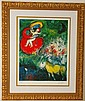 Marc Chagall Limited edition Giclee on paper