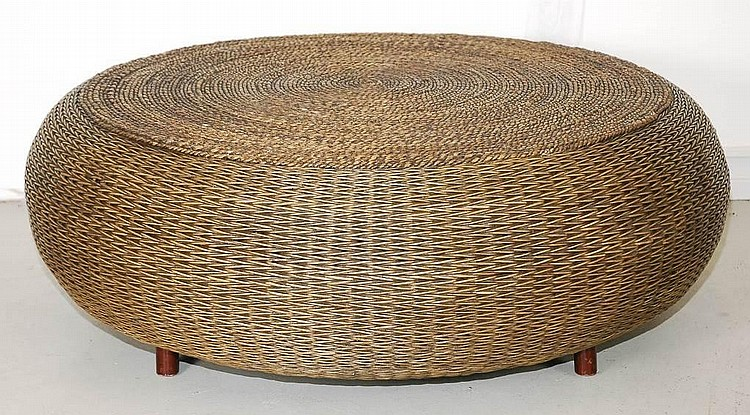 Wicker Round Coffee Table