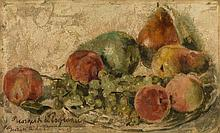 §POGEDAIEFF, GEORGES - (1894-1977)  Still Life with Fruit