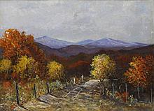 Carl T. Hoppe (Am. 1897-1981), Spanish Oaks, Leon