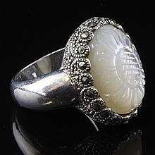 Mother of Pearl Sterling Ring