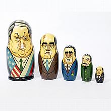 Russian Political Nesting Doll