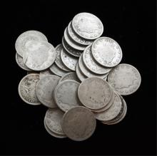 Lot of 25 Assorted V Nickels