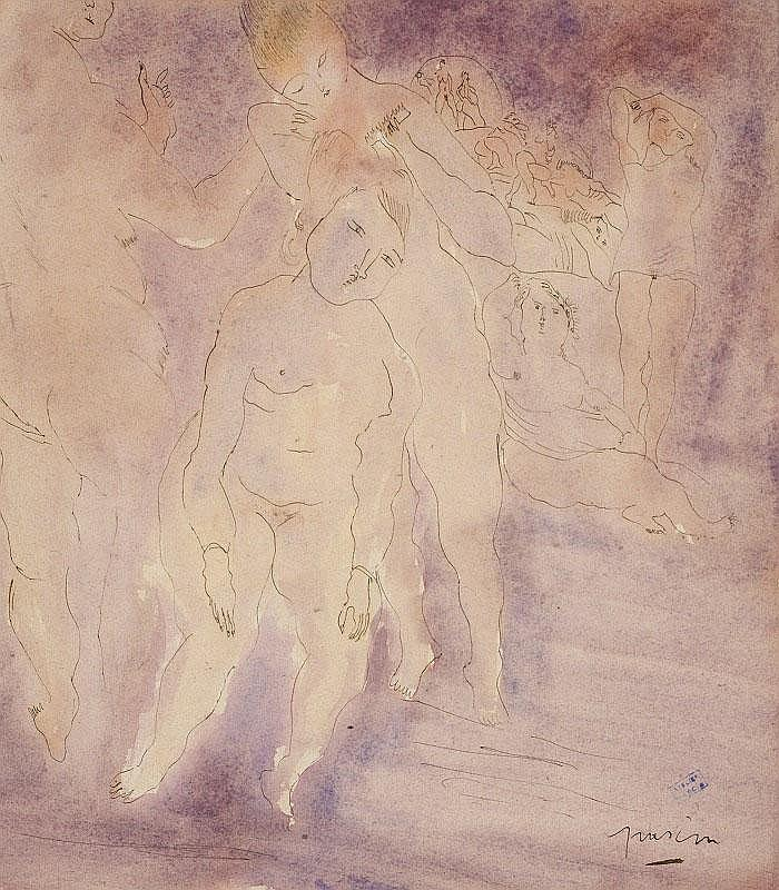 Jules Pascin, Female figures