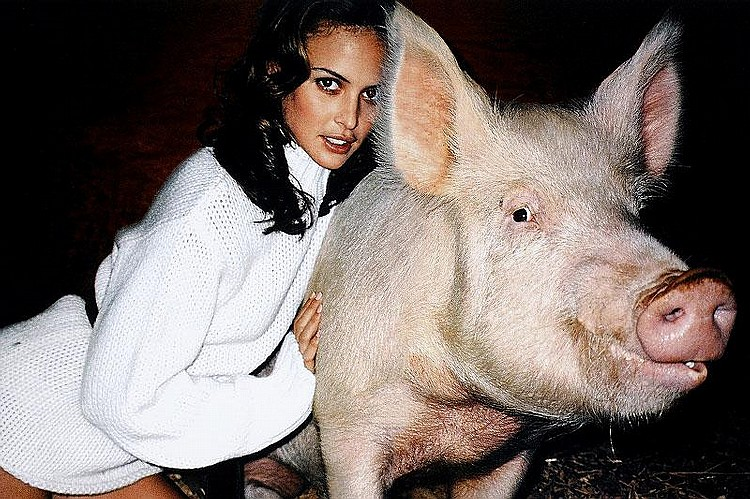 Terry Richardson, Josie Maron for Sisley