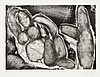 Pablo Picasso, Peintre et modele allonge (Block 1388/ Baer 1410)