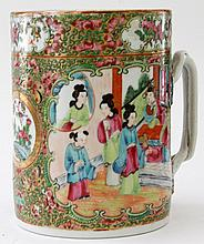 Two Chinese famille rose export porcelain