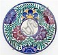 A Poole pottery charger with impressed Carter Stabler Adams Ltd. Poole mark (1925-1934), and painted decorators initials VJM,, Mark Adams, Click for value