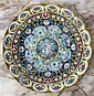 A highly decorated Russian plate c.2000,