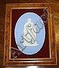 A Wedgwood oval jasper plaque late 19th century,