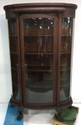 Oak Paw Foot China Cabinet