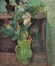 **Lazare Volovick 1902-1977 (Ukrainian) Still life oil on canvas