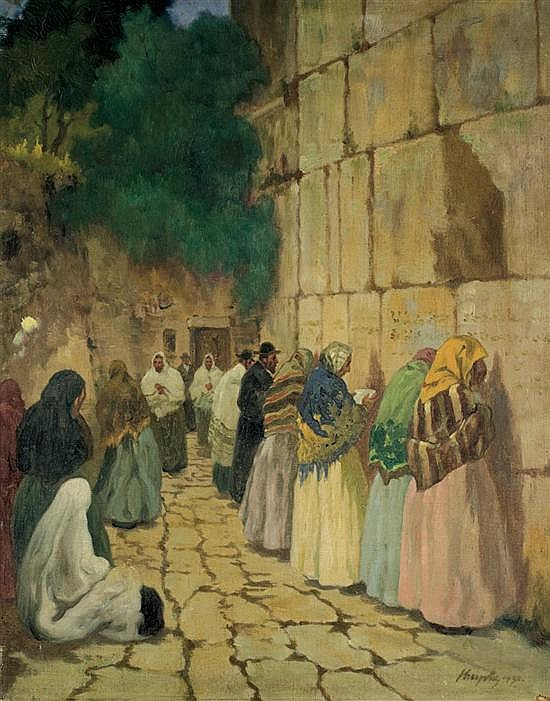 Jeno Krupka 20th century (French, Hungarian) Kotel, 1930 oil on canvas