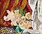 **Louis Valtat 1869-1952 (French) Still life with flowers oil on canvas