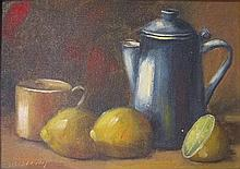 Unknown artist Still life oil on canvas