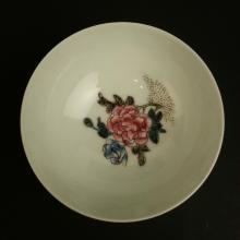 A Chinese Qing Dynasty YongZhen nian zhi Porcelain Shell  bowl