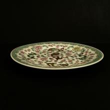 A Chinese Republic period Famille Rose Porcelain plate