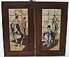 2 Mid 20thC Fran Williams Tiles of Ballet Dancers