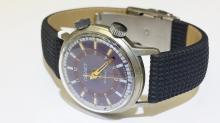 Vintage ????? Sterling Silver Men's Russian Watch