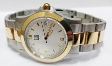ESQ two tone large size men's watch