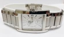 ESQ large size stainless steel men's watch