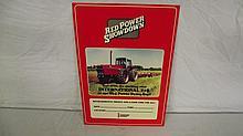 NOS 1970'S - 1980'S INTERNATIONAL HARVESTER RED POWER SHOWDOWN SIGN