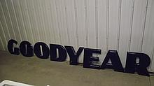 PORCELAIN GOOD YEAR LETTERS