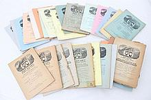 Lot 200 booklets national religious  for Torah,