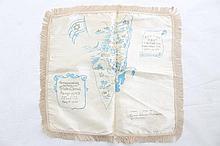 Map for Sabbath - silk work, 1948