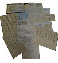 Lot of letters from different Admo