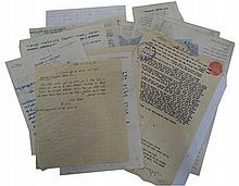 Lot of letters from different Rabbies