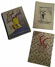 Lot 3 booklets for children for German Jewish 30s.