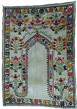 Susan handmade carpet weaving