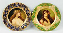 Lot of 2: Anheuser-Busch Malt Nutrine Plates.