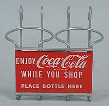 Coca-Cola Shopping Cart Bottle Holder.