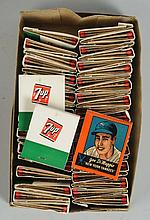 Box of 1966 7-Up Matches.