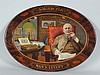 Savarona Cigar Oval Self-framed Tin Sign.