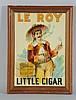 Le Roy Little Cigar Sign.