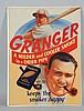 Johnny Mize/Granger Pipe Tobacco Lithograph.