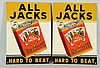 Lot of 2: All Jacks Signs.