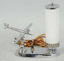 Small Airplane Desk Lamp.