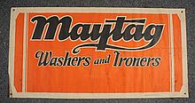 Maytag Showroom Linen Banner.