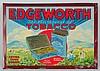 Tin Over Cardboard Edgeworth Tobacco Sign.