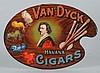 Van Dyke Cigar Tin Sign.