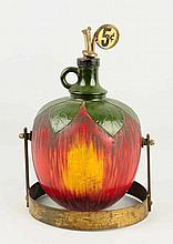 Apel-Joy Figural Glass Syrup Dispenser.