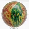 Large 4-Paneled Onionskin Marble.