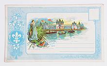 1904 St. Louis World's Fair - Rare Postcard.